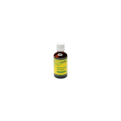 Allcura VITAMIN D3 & K2 Tropfen 1000 I.E./20 µg je Tropfen 50 ml