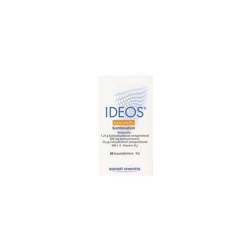 LABORATOIRE INNOTECH INTERNATIONAL IDEOS 500 mg/400 I.E. Kautabletten 30 St