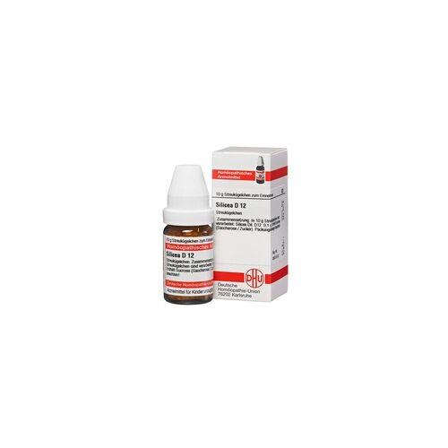 DHU-ARZNEIMITTEL SILICEA D 12 Globuli 10 g