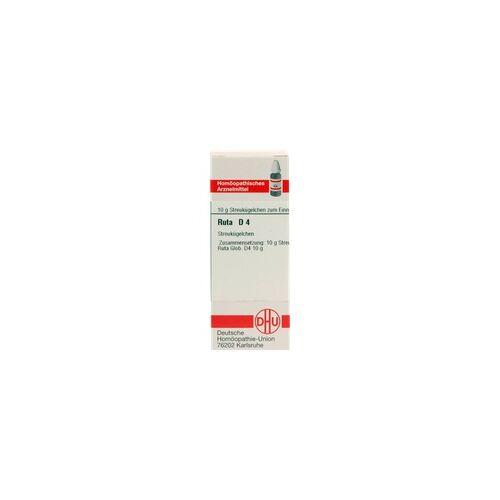 DHU-ARZNEIMITTEL RUTA D 4 Globuli 10 g
