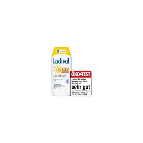 STADA LADIVAL Kinder Sonnenmilch LSF 50+ 200 ml