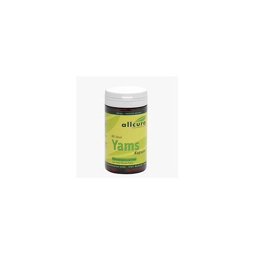 Allcura YAMS Kapseln 250 mg Yamspulver 60 St