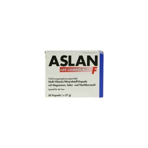 Aslan GmbH ASLAN Life Compound F Kapseln 60 St