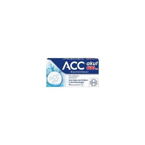 Hexal ACC akut 600 Brausetabletten 10 St