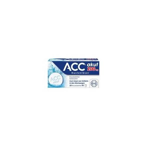 Hexal ACC akut 200 Brausetabletten 20 St
