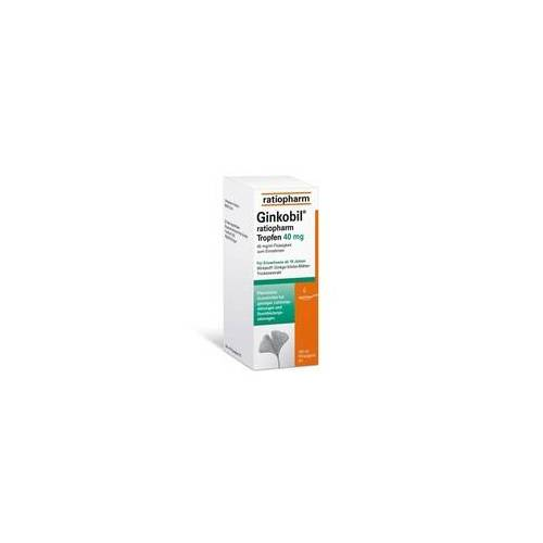 Ratiopharm GINKOBIL-ratiopharm Tropfen 40 mg 100 ml