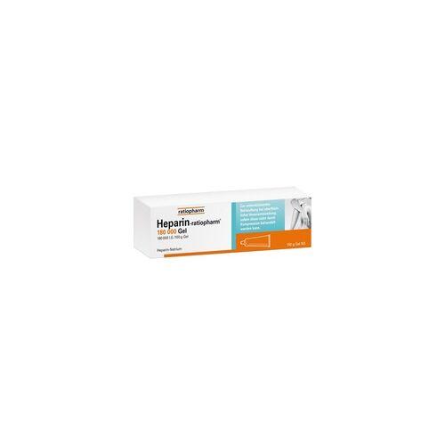 Ratiopharm HEPARIN-RATIOPHARM 180.000 I.E. Gel 150 g