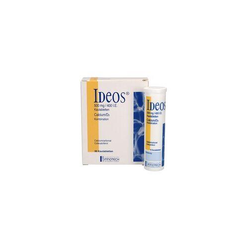 LABORATOIRE INNOTECH INTERNATIONAL IDEOS 500 mg/400 I.E. Kautabletten 90 St