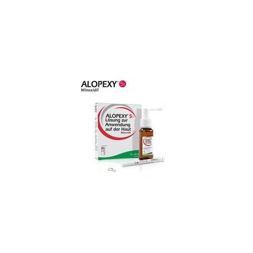 Pierre Fabre ALOPEXY® 5 % Haarwachstum reaktivierende Lösung 3X60 ml