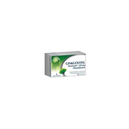 Heumann GINKGOVITAL Heumann 120 mg Filmtabletten 60 St