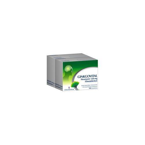 Heumann GINKGOVITAL Heumann 120 mg Filmtabletten 200 St