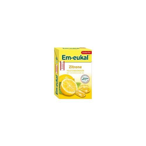 Dr. C. Soldan GmbH EM EUKAL Bonbons Zitrone zuckerfrei Box 50 g