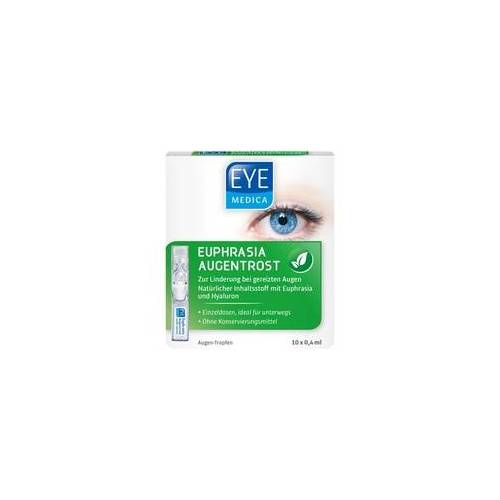 SOS EYEMEDICA Euphrasia Augentrost Augentropfen 10X0.4 ml