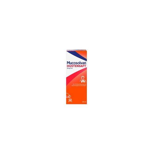 Sanofi-Aventis MUCOSOLVAN Hustensaft Schleimlöser 100 ml bei Husten 100 ml