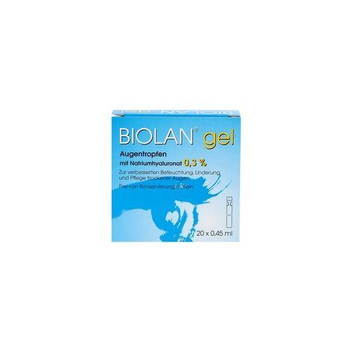 SANTEN GMBH BIOLAN Gel Augentropfen 20X0.45 ml