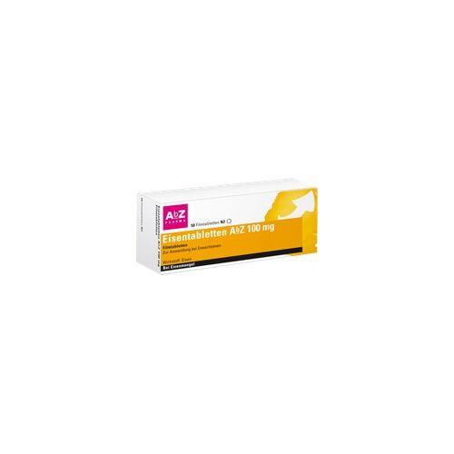 AbZ Pharma GmbH EISENTABLETTEN AbZ 100 mg Filmtabletten 50 St
