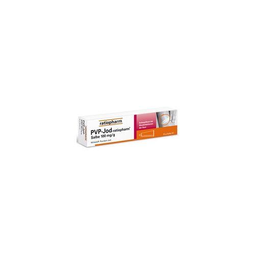 Ratiopharm PVP-JOD-ratiopharm Salbe 25 g