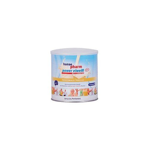 NUTRICHEM Diät + Pharma GmbH HANSEPHARM Power Eiweiß plus Vanille Pulver 750 g