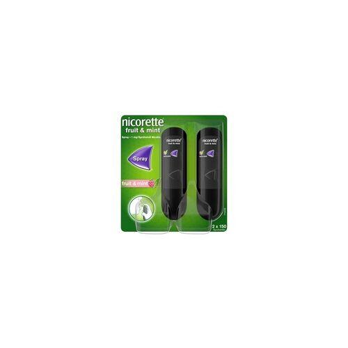 Johnson & Johnson GmbH (OTC) nicorette Fruit & Mint Spray zur Raucherentwöhnung 2 St