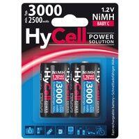 Ansmann ANS HC 2XC - HyCell, NiMh Akku, C (Baby), 3000 mAh, 2er-Pack