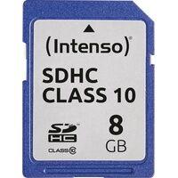 Intenso 3411460 - SDHC-Speicherkarte 8GB, Intenso Class 10