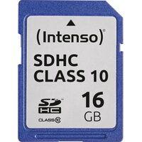 Intenso 3411470 - SDHC-Speicherkarte 16GB, Intenso Class 10
