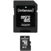 Intenso 3413470 - MicroSDHC-Speicherkarte 16GB, Intenso Class 10
