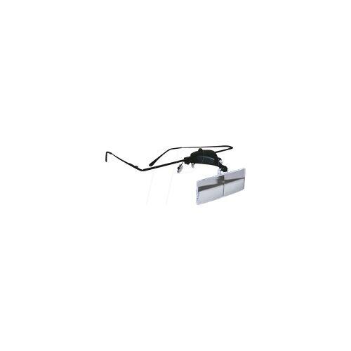 RONA 814160 - Lupenbrille LED, 1,5-fach, 2,5-fach, 3,5-fach