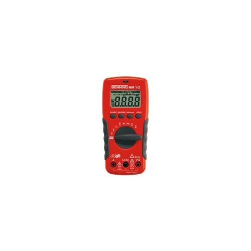 BENNING MM 1-2 - Multimeter MM 1-2, digital, 2000 Counts