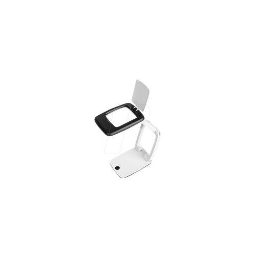 WEDO 27175101 - Tischlupe, LED, 47 x 52 mm, 3-fach