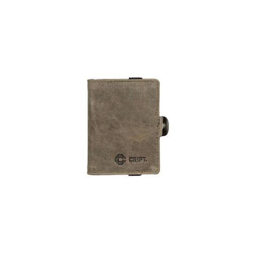 CRIPT RFID Kreditkartenetui 3.55 STEEL grey