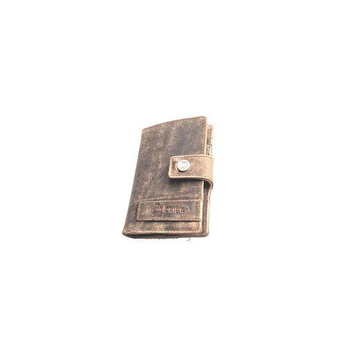 CRIPT RFID Kreditkartenetui 4.45 brown