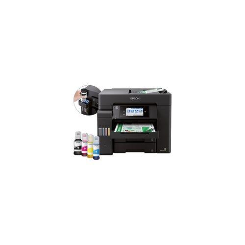 Epson EcoTank ET-5850 Drucker Scanner Kopierer Fax LAN WLAN + 80€ Cashback*