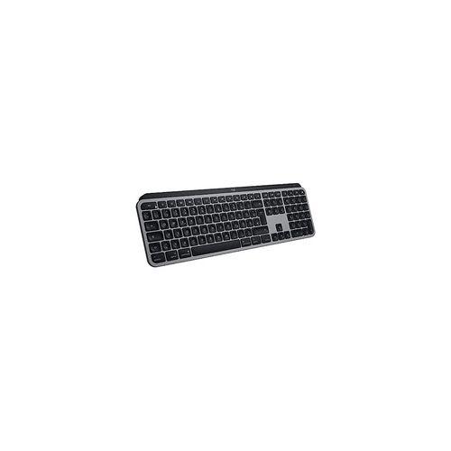Logitech MX Keys für Mac kabellose Tastatur space grey