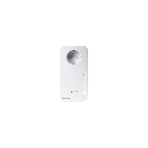 Devolo WiFi Repeater+ ac (1200Mbit, 2x LAN, WPS, MU-MIMO, WLAN Verstärker)