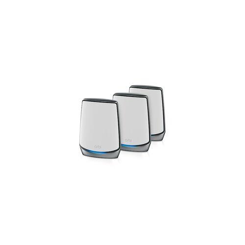 Netgear Orbi AX6000 Mesh WLAN 6 System Set (Router + 2 Satelliten) RBK853
