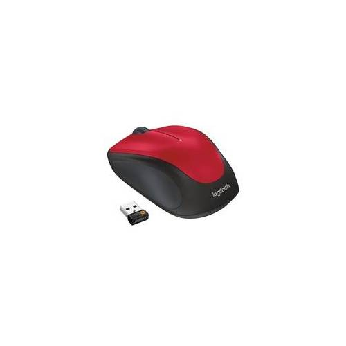 Logitech Wireless Mouse M235 Rot