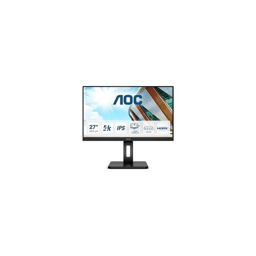"AOC U27P2 68,6cm (27"") 4K UHD IPS Office Monitor 16:9 HDMI/DP Pivot HV"