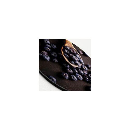 ART Glasbild BLAUBEEREN(BHT 50x50x1 cm) Pro-Art