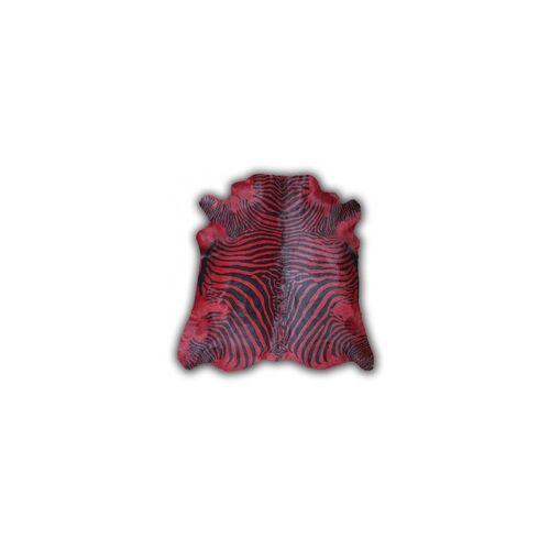 Teppich Cow printed Zebra red(LB 170x240 cm)