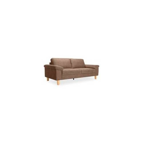 Sofa 2,5 Sitzer Collins(BHT 204x86x97 cm) praline