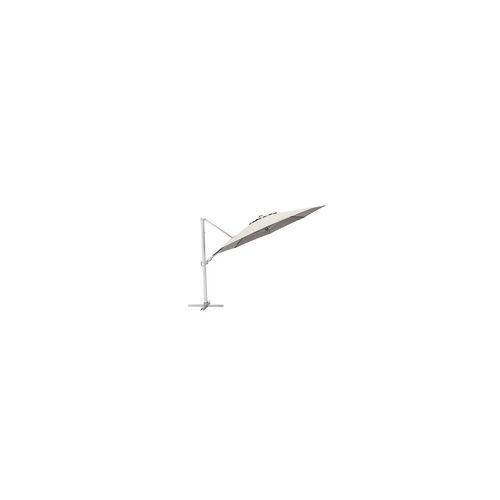Kettler Ampelschirm KETTLER Easy Turn(BHT 330x260x330 cm) KETTLER silber/hellgrau