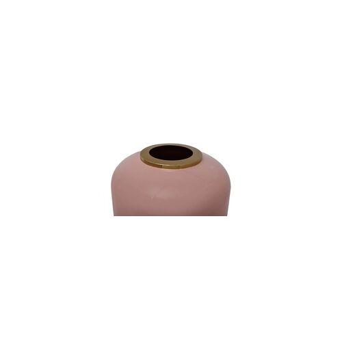 ART Bodenvase ART DECO(LBH 30x30x81 cm) rosa/gold
