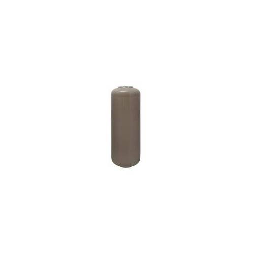 ART Bodenvase ART DECO(LBH 30x30x81 cm) taupe/silber