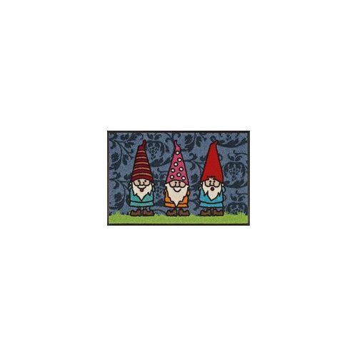 Kleen-Tex Fußmatte Gartenzwerge (LBH 75x50x1 cm) Kleen-Tex