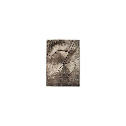 Braun Teppich IBIZA braun(D 120 cm)