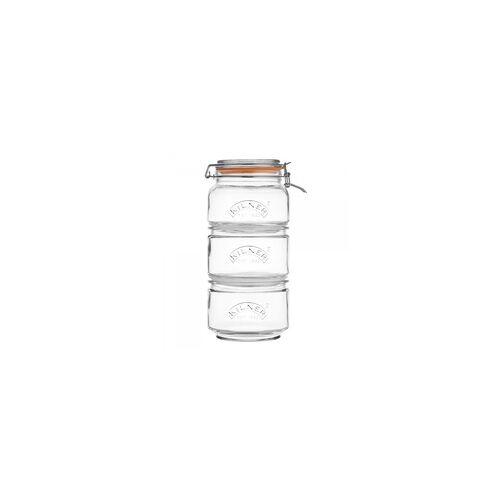 Kilner Vorratsglas KILNER Stapel-Set(LBH 18x18x32 cm) KILNER