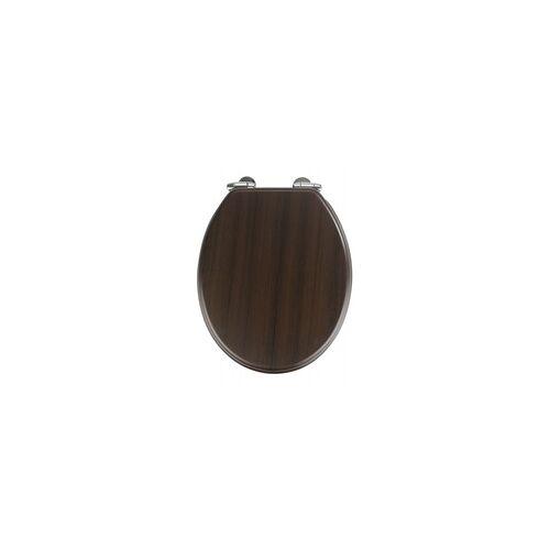 Wenko WC-Sitz Wenge(LB 35x41 cm) Wenko