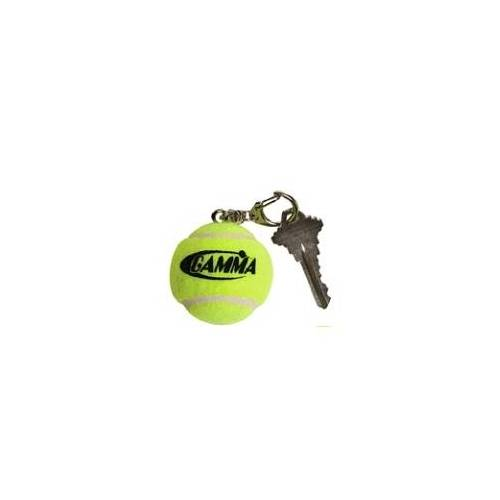 Gamma Tennis Ball Keychain