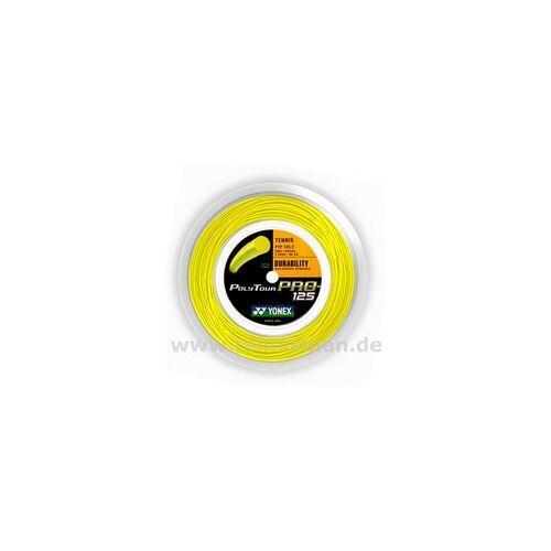 Yonex 1,30 mm - Tennissaite - Yonex Poly Tour Pro gelb - 200m